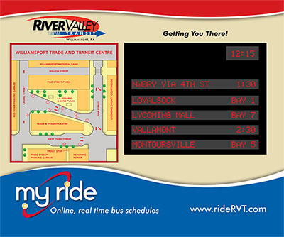 Route Information For Trade Transit Centre River Valley Transit Lock haven real estate facts. river valley transit