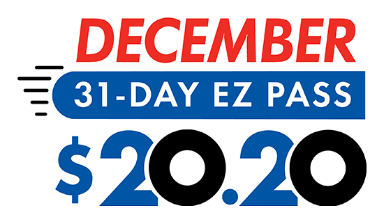 December 31-day EZ Pass