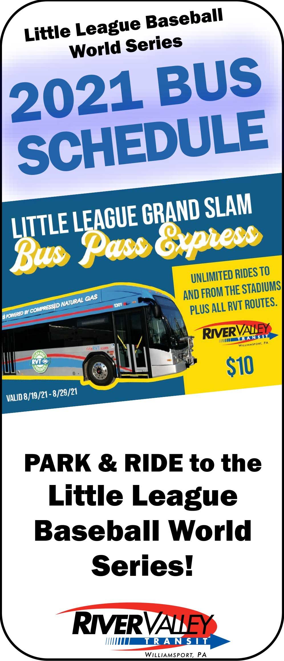 Little League Bus Pass